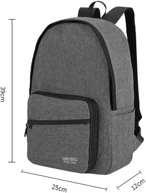 ZJ-Zaino da viaggio Backpack Male Folding Backpack Casual Lightweight Travel Bag Outdoor Sports Training Gym Bag /&/&