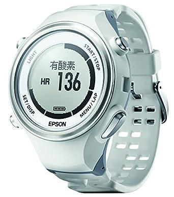 【クリックでお店のこの商品のページへ】[エプソン リスタブルジーピーエス]EPSON Wristable GPS 腕時計 ランニングウォッチ GPS機能 脈拍計測 SF-850PW