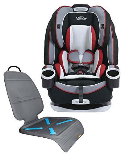 Graco 4ever All-in-one Convertible Car Seat With Seat Protector, Cougar