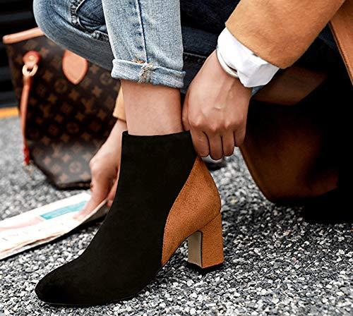 Femme Mode Bout Carr Aisun Multicolore p5dSwWnw4q