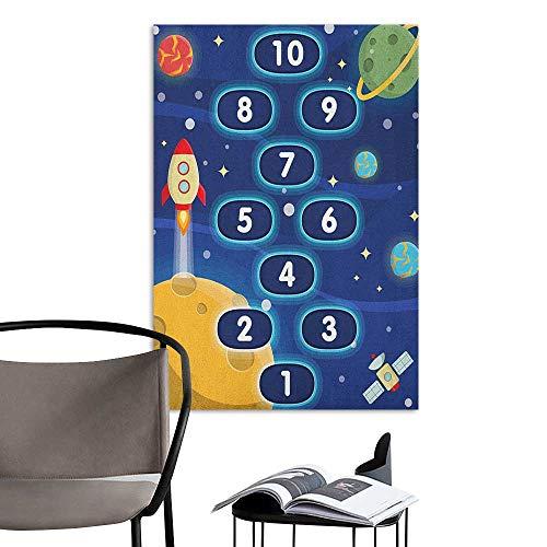 Alexandear Canvas Print Wall Art Kids Activity Children
