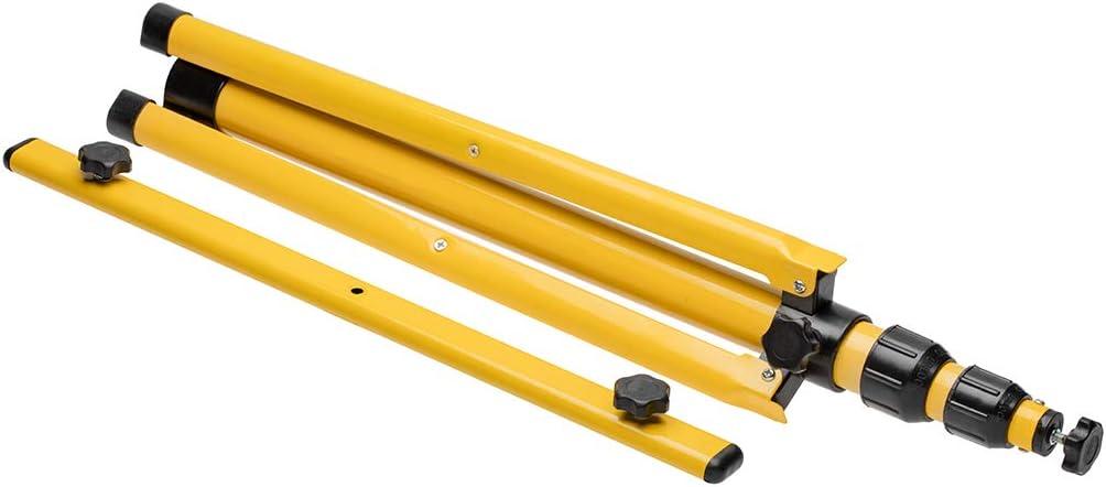 construcci/ón comercial soporte de pie para luces de trabajo luces de sitio de bricolaje CGC doble montaje de pie Tr/ípode para focos LED o hal/ógenos