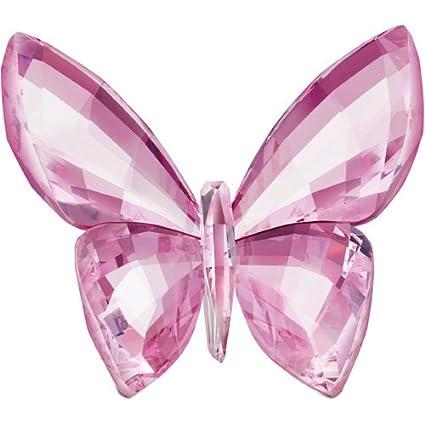 2cf37963c2 Amazon.com: Swarovski Crystal #1182461 Butterfly, Rosaline: Home & Kitchen