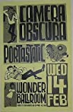 Camera Obscura Rare Original Portland Oregon Wonder Ballroom Concert Poster