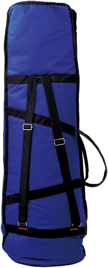 Bolsa de transporte para trombón, resistente al agua, con asa al hombro ajustable, con bolsillos de 5 mm de grosor, de algodón, acolchado, de la marca Andoer®, azul oscuro: Amazon.es: Instrumentos musicales