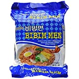 Paldo Bibim Men Korean Spicy Cold Noodles, 520 Grams