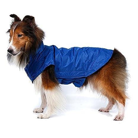 ThinkPet Chaqueta para perro Abrigo impermeable Sudadera deportiva Abrigo de invierno para perros abrigo acolchada de