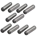 uxcell Carbon Steel GB117 35mm Length 10mm Small End Diameter Taper Pin 10pcs