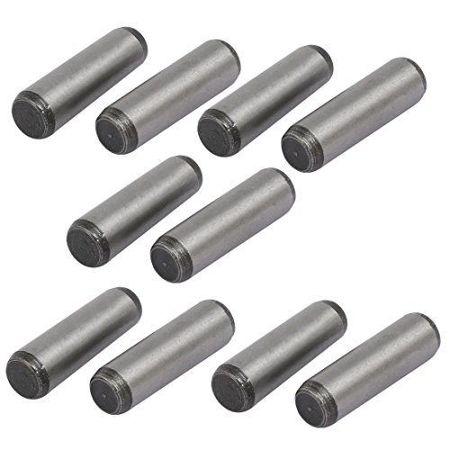 uxcell Carbon Steel GB117 35mm Length 10mm Small End Diameter Taper Pin 10pcs by uxcell