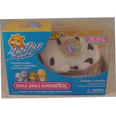 Zhu Zhu Pet Hamster Moo: Toys & Games