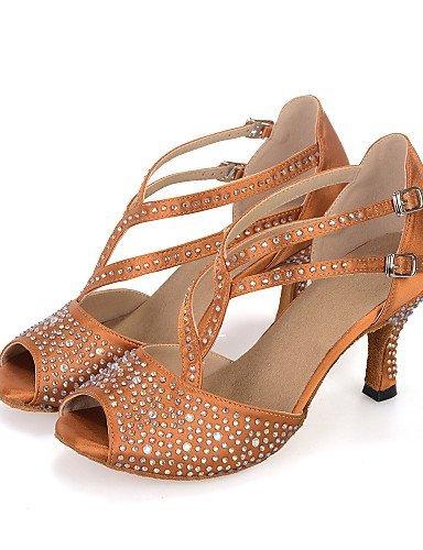 Danse Chaussures de NoirMarron Personnalisables ShangYi Vert E6R0qwdB