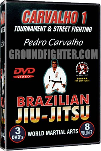 Pedro Carvalho Series 1, Brazilian Jiu-Jitsu Instructional DVDs with over 300 techniques