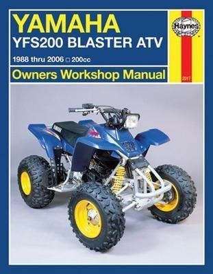 - 88-06 YAMAHA BLASTER: Haynes Repair Manual (MISC)