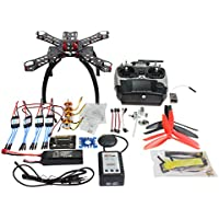 QWinOut DIY RC FPV 310mm Racing APM2.8 GPS Drone ARF Unassembly Full Combo Set : Radiolink AT9 9CH 2.4G Radio / Fiberglass Frame