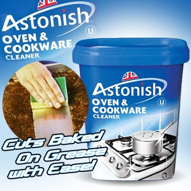 AS SEEN ON TV Astonish Oven and Kitchen Cleaner