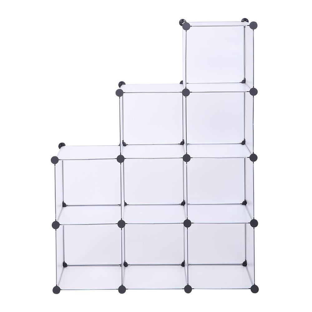 TryMe Cube Storage 9-Cube Closet Organizer Storage Shelves DIY Bookshelf Organizer for Home Office Bedroom by TryMe
