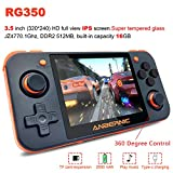 MJKJ Handheld Game Console , RG350 Retro Game Console OpenDingux Tony System , Free with 32G TF Card Built-in 2500 Classic Game Console 3 Inch IPS...