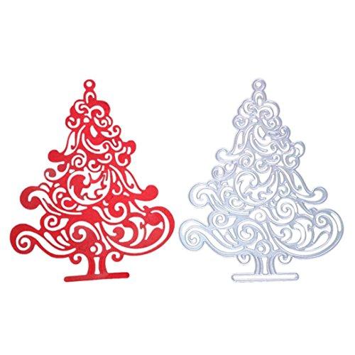 Topunder Merry Christmas Metal Cutting Dies Stencils Scrapbooking Embossing DIY Crafts -