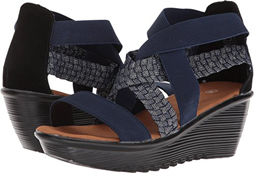 Bernie Mev Womens Luccious Shimmer Navy Shimmer