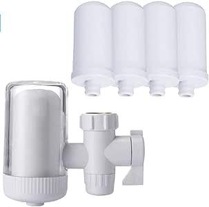 ZXCVB Grifo del Filtro purificador de Agua del Grifo doméstico y ...