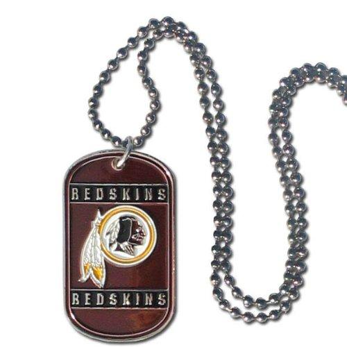 Siskiyou NFL Washington Redskins Dog Tag Necklace