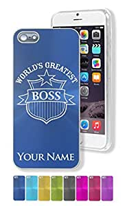 iPhone 5/5S Case/Cover - WORLD'S GREATEST BOSS - Personalized for FREE