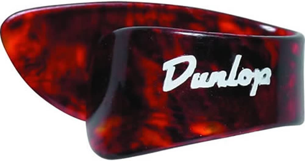 Jim Dunlop Shell Medium Thumbpick, Pack de 12 Unidades