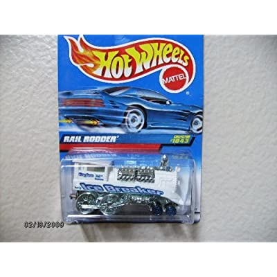 HOT Wheels Rail Rodder Unpainted Malaysia Base Collector #1043: Toys & Games