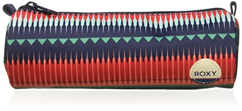 Roxy Junior's Charm School Pencil Pouch Case, 6537 JAGGED STRIPE GPF3, One Size (Charm Roxy)