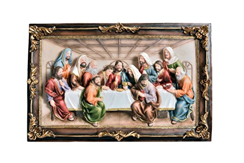 Cheap  StealStreet SS-OL-OK-2534-P3A Last Supper Hanging Plaque, 16