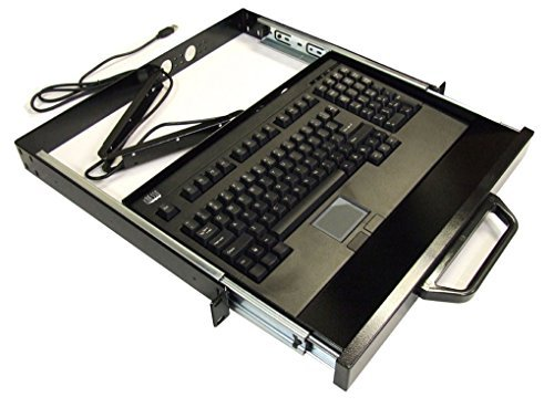 EASYTOUCH 730 - TOUCHPAD KEYBOARD W/ RACKMOUNT (USB) ()