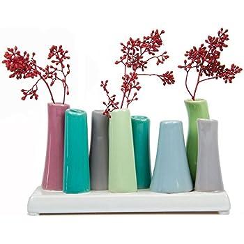 Amazon Chive Pooley 2 Unique Ceramic Flower Vase Low