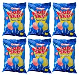 Fluffy Stuff Cotton Candy Bag: 24 Count - 2.5 oz (Pack of 6)