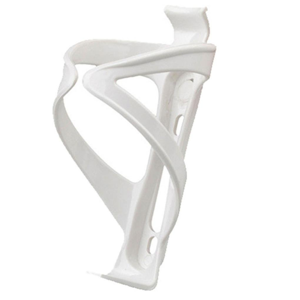 Witspace Bike Cycling Mountain Road Bicycle Water Bottle Holder Cages Rack Mount (White)