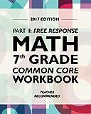 Argo Brothers Math Workbook, Grade 7: Common Core Math Free Response, Daily Math Practice Grade 7