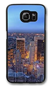 Central park New York Polycarbonate Hard Case Cover for Samsung S6/Samsung Galaxy S6 Black wangjiang maoyi