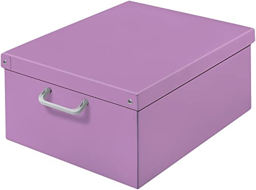 Kanguru Baulotto Lilla, Caja en cartón, Dimension 50x40x25 cm: Amazon.es: Hogar