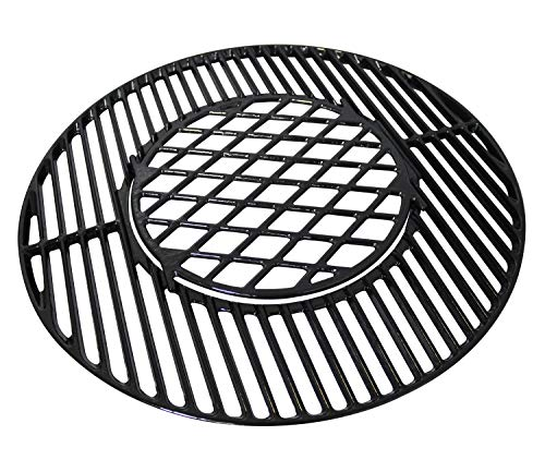- Hongso PCH835 Gourmet BBQ System Porcelain Coated Cast Iron Grill Grate for Weber Original Kettle Premium 22 Inch Charcoal Grill, 22 inch Weber Performer Premium & Deluxe Charcoal Grill, 22'' Smokers