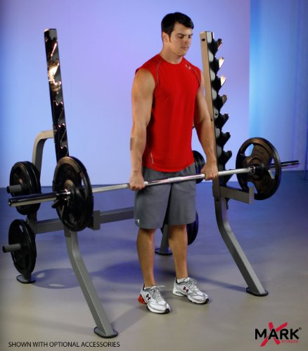 XMark Multi Press Squat Rack with Olympic Plate Weight Storage XM 7619