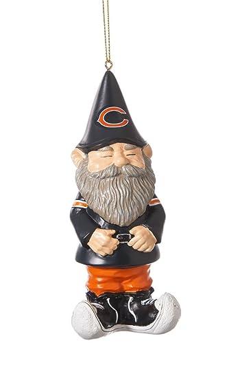 Amazon.com: NFL Chicago Bears Garden Gnome Christmas Ornament ...