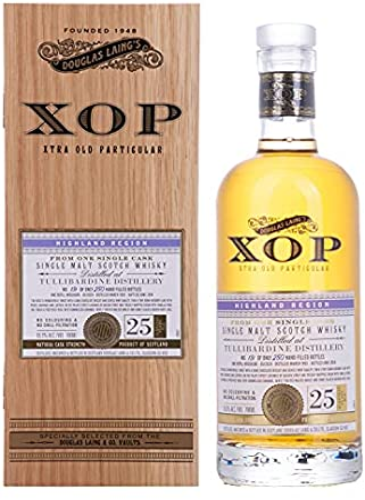 Douglas Laing & Co. Douglas Laing XOP Tullibardine 25 Years Old Single Cask Malt 1993 55,3% Vol. 0,7l in Holzkiste - 700 ml