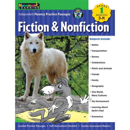 Download Independent Fluency Practice Passages: Fiction and Nonfiction Grade 1 with Audio CD PDF