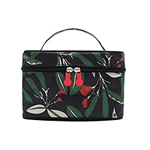 Merssavo Women Multifunction Travel Cosmetic Bag Makeup Case Pouch Toiletry Organizer