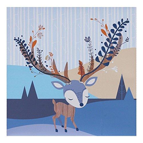 Lolli Living Woods Canvas Art - Deer by Lolli Living