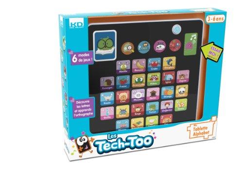 Les Tech Too - S1147 - Jeu Électronique - Ma Tablette Alphabet
