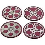 Movie Reels Drink Coasters