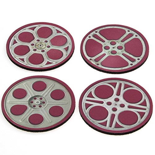 Retro Planet Movie Reels Coasters product image