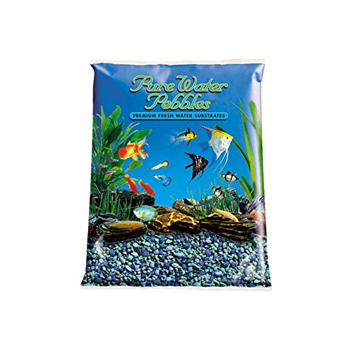 Worldwide Imports AWW70515  Mixed Color Gravel, 5-Pound, Blue Lagoon