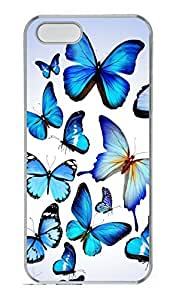 Generic Butterflies Design Hard Clear Cases for iphone 6 plus