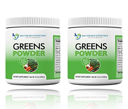 Greens Powder -Doctor Recommended-Complete-Natural Whole ...